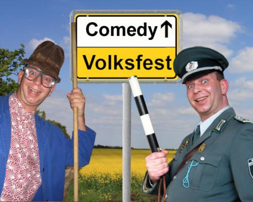 Comedy Show Einlagen für Volksfeste