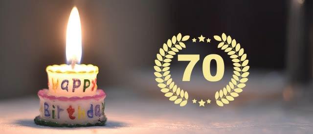 Comedy-Einlagen zum 70. Geburtstag