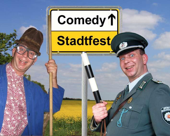 Comedykünstler, Unterhaltungskünstler und Komiker für Stadtfeste