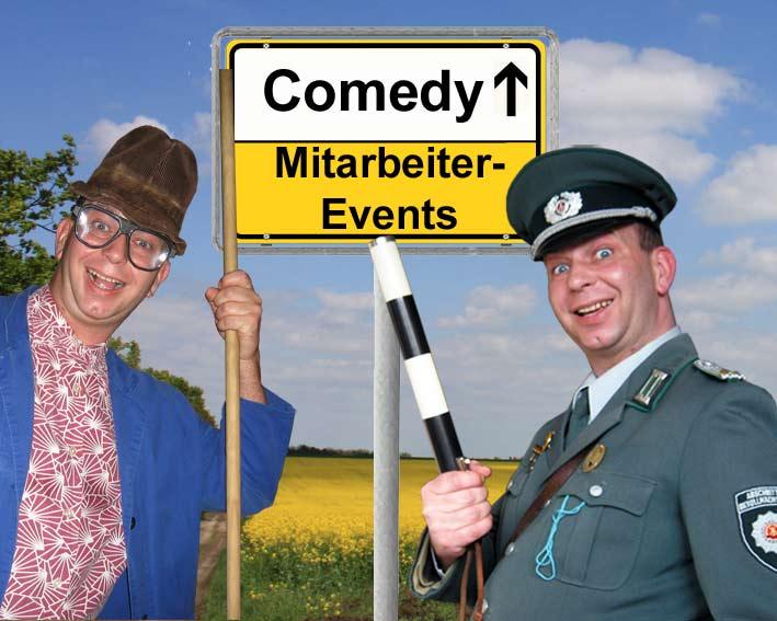 Comedy-Show-Einlagen für Mitarbeiter-Events