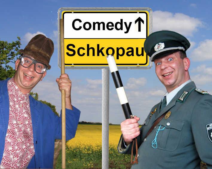 Comedykünstler und Comedian in Schkopau