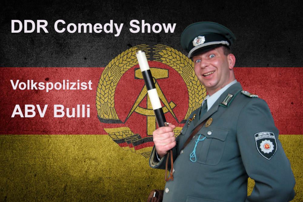 DDR Comedy Show mit ABV Bulli