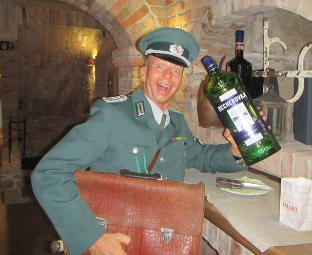 DDR Komiker Volkspolizist Comedy