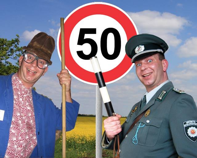 Komiker, Comedy Alleinunterhalter und Unterhaltungskünstler zum 50. Geburtstag buchen