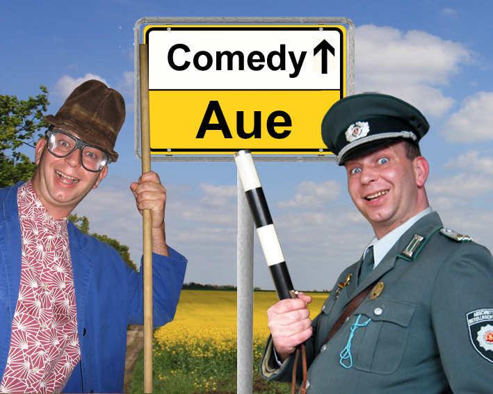 Komiker, Comedykünstler und Alleinunterhalter in Aue