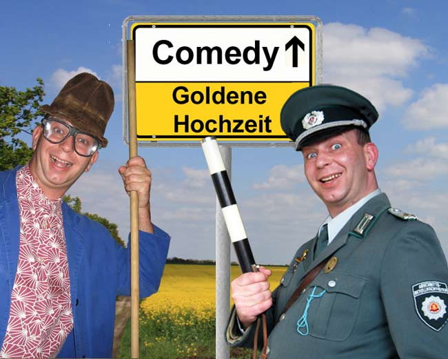 Komiker und Alleinunterhalter zur Goldenen Hochzeit