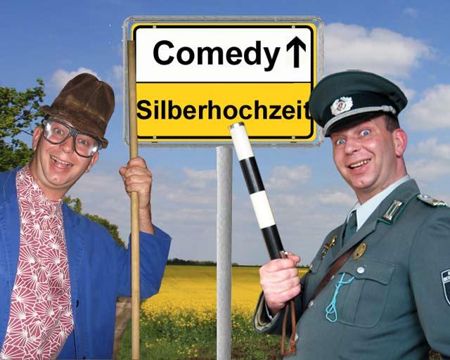 Komiker und Comedy-Alleinunterhalter für Silberhochzeit