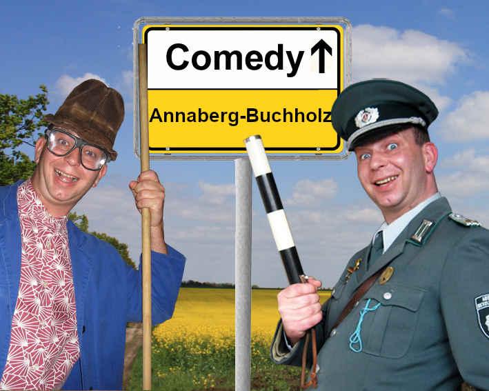 Komiker und Comedy Alleinunterhalter in Annaberg-Buchholz