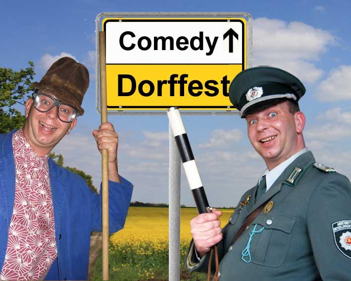 Komiker und Comedy-Alleinunterhalter für Dorffeste