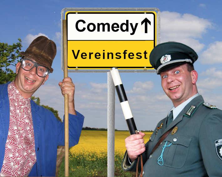 Komiker, Comedy Künstler und Alleinunterhalter für Vereinsfeste