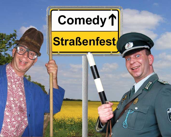 Komiker, Comedy- und Unterhaltungskünstler für Straßenfeste