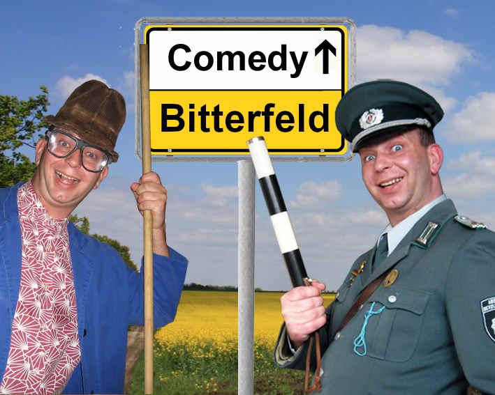 Komiker und Alleinunterhalter in Bitterfeld buchen